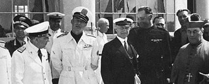 Il giorno dell'inaugurazione  il 28 giugno 1942 sotto la presidenza di Carlo Alberto Privileggi